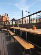 Terrace tables
